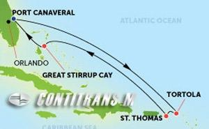 Eastern Caribbean - Port Canaveral (PCV/PCV)