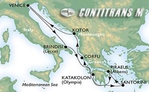 Aegean & Adriatic from Venice on Musica