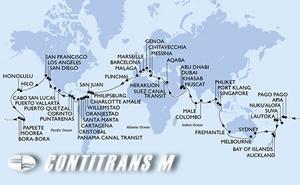World Cruise from Civitavecchia