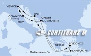 Greek Isles 7-day on Sinfonia