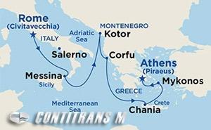 Mediterranean & Aegean on Royal