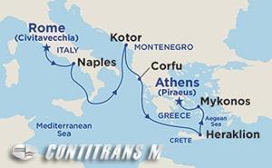 Greece & Italy on Royal