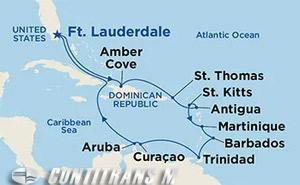 Circle Caribbean on Caribbean Princess
