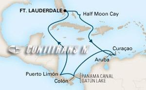 Panama Canal I on Zuiderdam