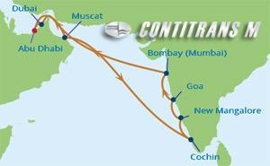 CS 14 NIGHT ARABIAN SEA & INDIA CRUISE
