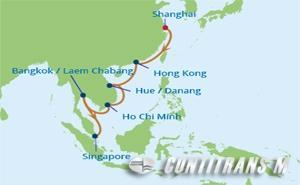 CS 14 NIGHT CHINA, VIETNAM, THAILAND CRUISE