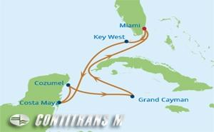 EQ 7 NIGHT WESTERN CARIBBEAN HOLIDAY CRUISE