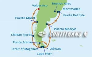 IN 15 NIGHT CHILE & ARGENTINA CRUISE