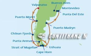 IN 14 NIGHT CHILE & ARGENTINA CRUISE