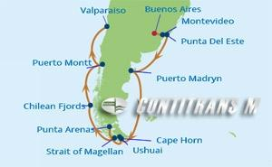IN 14 NIGHT ARGENTINA & CHILE CRUISE