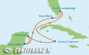RF 7 NIGHT WESTERN CARIBBEAN HOLIDAY CRUISE