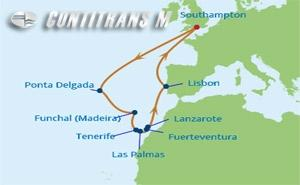 SI 14 NIGHT CANARIES & AZORES CRUISE