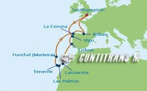 SI 13 NIGHT CANARY ISLANDS CRUISE