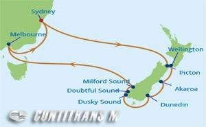 SL 12 NIGHT NEW ZEALAND HOLIDAY CRUISE