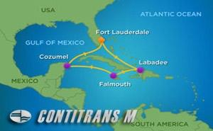 HM 7 NIGHT WESTERN CARIBBEAN HOLIDAY CRUISE