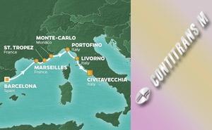 JR 7-NIGHT SPAIN, FRANCE & ITALY VOYAGE