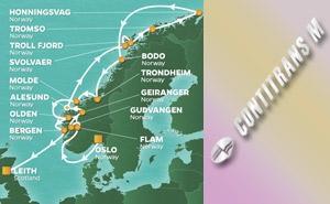 JR 16-NIGHT NORWAY & MIDNIGHT SUN VOYAGE