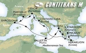 Mediterranean & Adriatic IIA on Orchestra