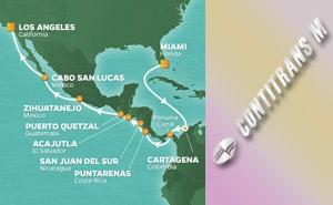 JR 17-NIGHT PANAMA CANAL HOLIDAY VOYAGE