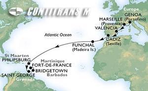 Transatlantic West of Fantasia