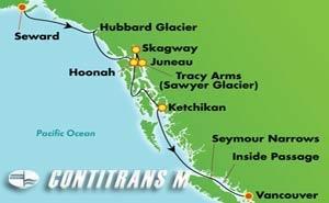 Alaska - Southbound Whittier (SWD/VAN)