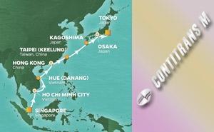QS 16-NIGHT SPRINGTIME IN ASIA VOYAGE