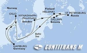Germany, Norway, Sweden, Estonia, Russian Federation, Finland