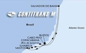 Santos, Ilhabela, Buzios, Copacabana, Salvador, Cabo Frio, Santos