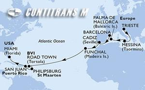 Italy, Spain, Portugal, Virgin Islands (British), St. Maarten, Puerto Rico, United States