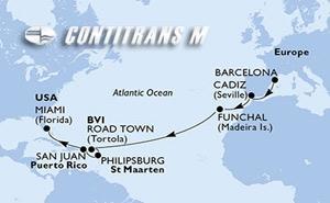 Spain, Portugal, Virgin Islands (British), St. Maarten, Puerto Rico, United States