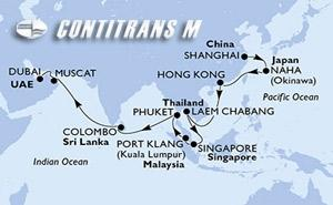 China, Japan, Hong Kong, Thailand, Singapore, Malaysia, Sri Lanka, Oman, United Arab Emirates