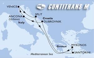 Italy, Croatia, Greece
