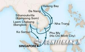 Thailand & Vietnam on Westerdam