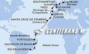 Brazil, Spain, Portugal, United Kingdom, France, Germany