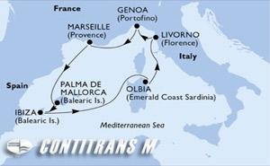 Italy, France, Spain