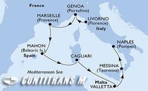 Italy, France, Spain, Malta