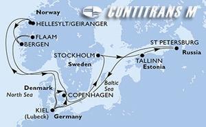 Denmark, Sweden, Estonia, Russian Federation, Germany, Norway