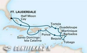 Caribbean Holiday 2017 on Prinsendam