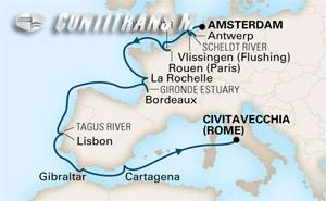 Around Europe on Prinsendam