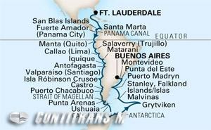 South America & Antarctica 2019 on Prinsendam