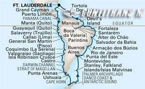 Grand South America & Antarctica 2018 on Prinsendam