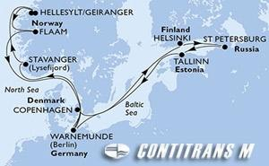 Denmark, Germany, Norway, Finland, Russian Federation, Estonia