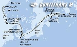 Germany, Finland, Russian Federation, Estonia, Denmark, Norway
