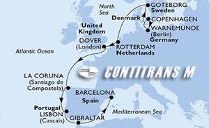 Denmark, Germany, Sweden, Netherlands, United Kingdom, Spain, Portugal, Gibraltar