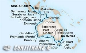 Southern Ocean & East Indies Holiday on Maasdam