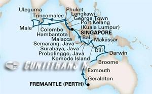 East Indies, Coral Seas & Indian Ocean on Maasdam