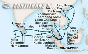 Indian Ocean & Southeast Asia on Maasdam