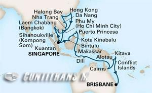 Southeast Asia & Spice Island on Maasdam