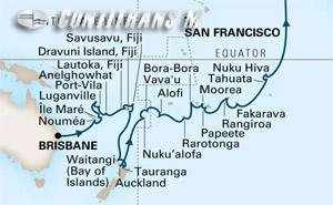 Pacific & Polynesian Crossing on Maasdam
