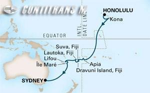 South Pacific Crossing from Honolulu on Noordam